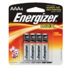 Eveready Battery Battery Aaa Energizr 4/Cd  @12 EVR E92BP4