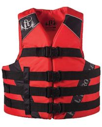 Kent Pfd Adult Nylon Red S/M FTH 11220010003014