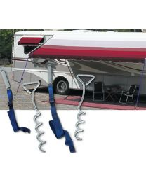 Carefree Awning Tie-Down W/Hooks PWR 901000