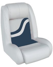 Wise Seating Bucket Seat White-Navy WIS 8WD1129924