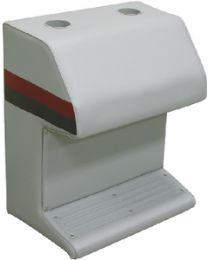 Wise Seating Dlx Cap Stand-Lt Gy/Red/Char WIS 8WD1151012