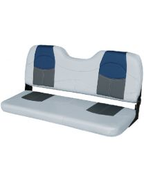 Wise Seating Bench Seat 48  Grey-Char-Navy WIS 8WD1459840