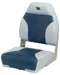 Wise Seating Deluxe Hi Back Boat Seat W/O WIS 8WD588PLS661