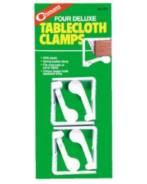 Coghlans Deluxe Tablecloth Clamps (Pk4) CGL 9211