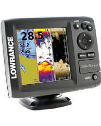 Lowrance Elite-5 Hdi W/Xd 50/200 LOW 00011146001