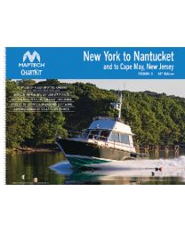 Maptech Chart Kit-R3 NY-Nantct &To Cp May MAP R0316