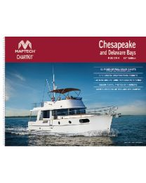 Maptech Chartkit R4 Chespke & Del Bay MAP R0412