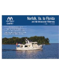 Maptech Chart Kit-R6 Norfolk To Fl & Icw MAP R0612