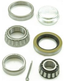 Dutton Lainson 6207 Trailer Bearing Set W/Dust Cap DUT 21814