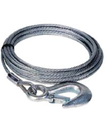 Dutton Lainson 6212 Winch Cable & Hook 7/32X50 DUT 24045