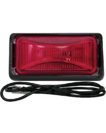 Anderson Marine Clearance Light Assy Blk/Red AND E150BKR