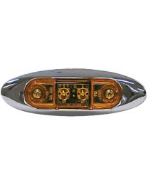 Anderson Marine Amber Led Clearance Light AND V168XA