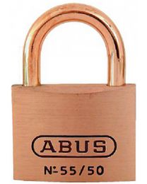 Abus Lock Padlock Key #5502 Brass 2In ABU 55906
