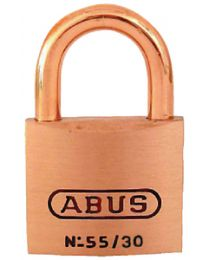 Abus Lock Padlock Brass 1-1/4In 55/30Mbc ABU 56411