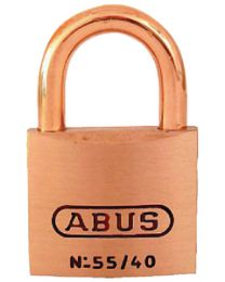 Abus Lock Padlock Brass 1-1/2In 55/40Mbc ABU 56611