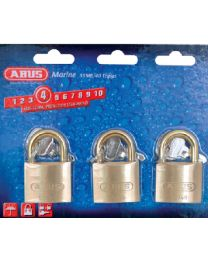 Abus Lock Padlock Brass 1-1/2 Ka 3/Cd ABU 56613