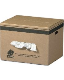 Buffalo Industries New White Knit Wipers 25# BUF 12024