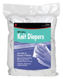 Buffalo Industries Knitted Polishing Diapers 1# B BUF 12071