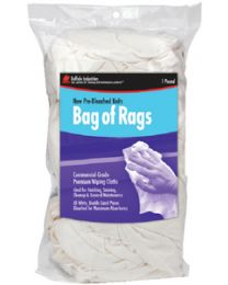 Buffalo Industries New White Knit Wipers 1# BUF 60200