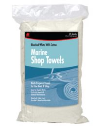 Buffalo Industries Marine Shop Towels -25 Pk Bag BUF 62031