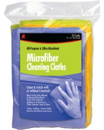 Buffalo Industries Microfiber Detailer Cloth 12Pk BUF 65003