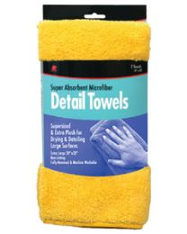 Buffalo Industries Microfiber Detail Towels 2/Pk BUF 65004