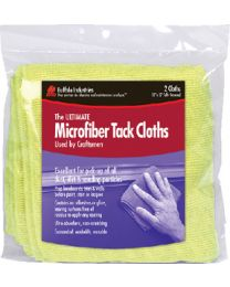 Buffalo Industries Microfiber Tack Cloths 2/Pk BUF 65008