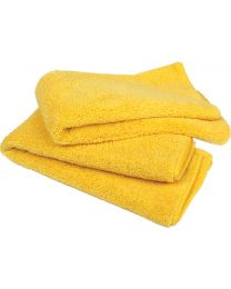 Buffalo Industries 20 X 20 Yel.Microfiber 15/Bag BUF 65013