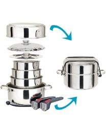 Magma Cookware 10 Pc. S/S MAG A10360L