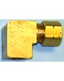 Bennett Trim Tabs 1/8  Female Elbow (Brass) BEN H1172