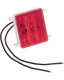 Bargman LED#86 Single Tail Light Red Wrap Around Light FUW 4286410