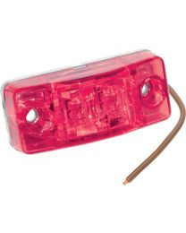 Bargman LED #99 Waterproof Clearance / Side Marker Light Red FUW 4299401