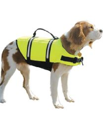 Paws Aboard Doggy Life Jacket Yellow Xl PAW 1600