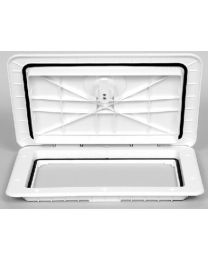 T-H Marine Sure Seal Hatch 13 X 17 White THM HAT13172DP