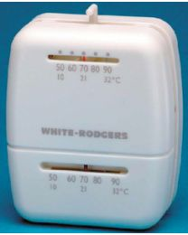 White Rodgers Univ. Heating Thermostat White WHR M30