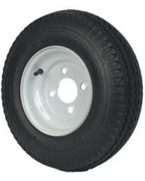 "Martin 8"" High Speed Trailer Bias Tire 570X8 LR-B W/4 Hole MWH 0622711301"
