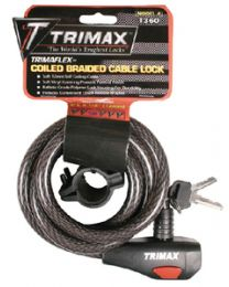 Trimax Locks 6'High Security Cable Lock TRX TKC126