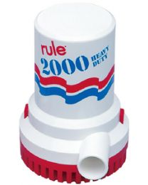 Rule 2000 Pump  32V W/Strainer RUL 11