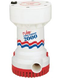 Rule 2000 Comptrized Bilge Pump 12V RUL 53S