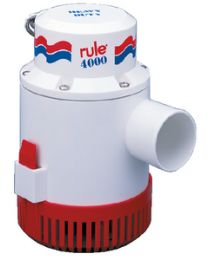 Rule 4000 Gph Bilge Pump  12V RUL 56D
