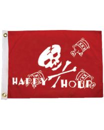 Taylor Happy Hour Pirate Flag 12X18 TAY 1798