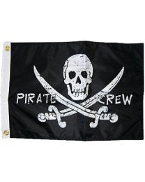 Taylor Pirate Crew 12X18 Nylon Flag TAY 1799