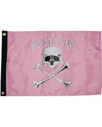 Taylor Pirate Girl 12X18 Nylon Flag TAY 1801