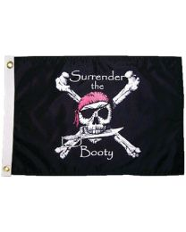 Taylor Surrender Booty12X18 Nyl Flag TAY 1805