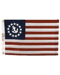 Taylor Flag Us Yacht Ensign 36Inx60In TAY 8160