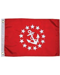 Taylor Flag 12Inx18In Vice Commodore TAY 93077