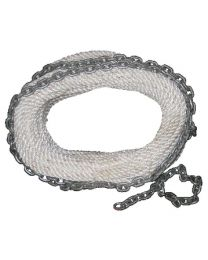 New England Ropes Chain Rode 1/2 X 200 NER 62H201600200