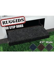 Prest-O-Fit Rugged Step Rug Black PSF 20420