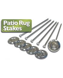 Prest-O-Fit Patio Rug Stakes (6 Pack) PSF 22001