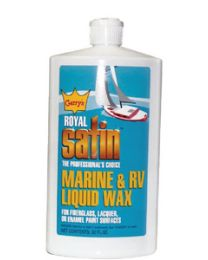 Garys Royal Satin Wax Royal Satin Liquid Wax 32Oz GRS G132